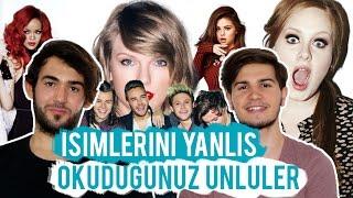 İsimlerini Yanlış Okuduğunuz Ünlüler (Selena Gomez Taylor Swift,Rihanna,Adele... ) | 2Pals1Blog