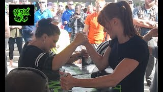 [NBK] | Womens Armwrestling | ALL Matches MN States 2017