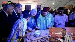 محمد الرفاس صانع من ويسلان  بالمعرض الوطني للخشب بمكناس ( ويسلان نيوز)