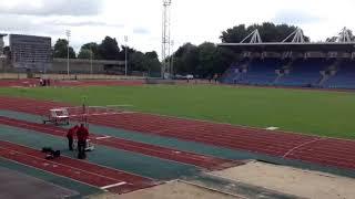 Karl Johnson, 400 m h Under 17. South England Championship August 2017