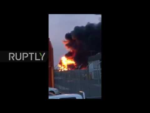 Australia: Toxic smoke looms over Melbourne after factory fire