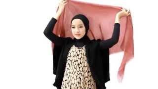 Tutorial Hijab Turban Layer Untuk Ke Pesta