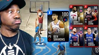 FREE 95-100 OVR HIGH FLYERS WITH DUNK PACKAGE! NBA Live Mobile 19 Season 3 Ep. 66
