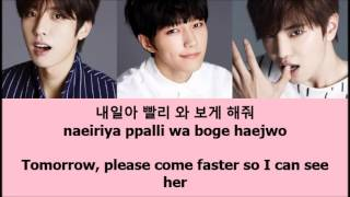 Infinite F - It's You [Eng + Han + Rom]