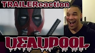 DeadPool Official Red Band Trailer REACTION (2016)