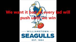 Williamstown Seagulls theme song (Lyrics)