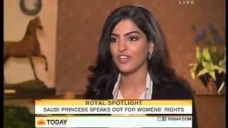Princess Ameerah Al Taweel Wife of Prince Alwaleed Bin Talal Interview on NBC TODAYSHOW