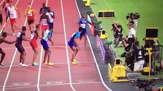 Trinidad and Tobago wins 4x400m Relay Men Final IAAF World Champs London 2017
