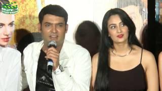 Kis Kisko Pyaar Karu2015 Movie Promo Event  Kapil Sharma, Elli Avram, Manjari Phadnis