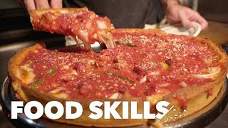 The Perfect Deep-Dish Pizza, According to Emmett Burke | Food Skills