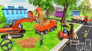 Heavy Excavator Simulator 2018 - Dump Truck | Construction Vehicles - Android GamePlay