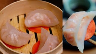 The Art of Dim Sum - Cantonese Shrimp Dumplings Har Gow Recipe [水晶虾饺]
