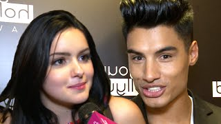 Ariel Winters & 'The Wanted' Siva Kaneswaran On Modern Family