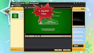 How to convert video to avi free with clonedvd free avi converter