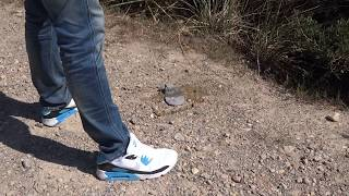 Nike Airmax stomping cigarettes and finaly pee old socks