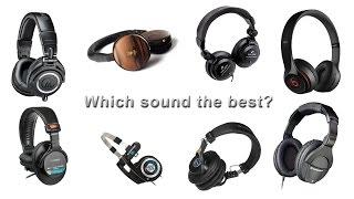 Best Headphones - Beats vs Sony vs Audio-Technica vs Sennheiser