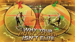 THE TOP 3 REASONS WHY YOUR POST SCORER IS NOT UNGUARDABLE! HOW TO BECOME ELITE IN THE POST! NBA 2K19