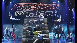 Diavolo: Unique Dance Group Have Bodies and Props FLYING All Over! | America's Got Talent 2017