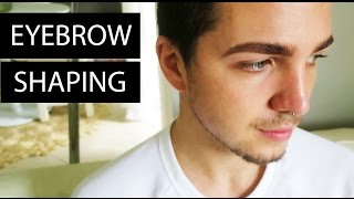 Eyebrow Shaping - Men's Eyebrows