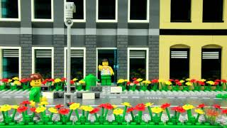 Lego Earthquake Safety Video - Yellow Men