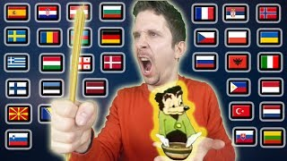 """How To Say """"SOMEBODY TOUCHA MA SPAGHET!"""" In 32 Languages"""