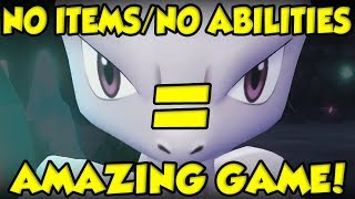 Why No Held Items / Abilities Makes Pokemon Let's Go MORE COMPETITIVE