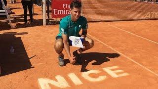 Dominic Thiem vs. Alexander Zverev - Final Niza 2016 [Highlights]