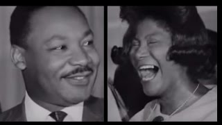 Mahalia Jackson singing & Martin Luther King Jr  preaching at Church