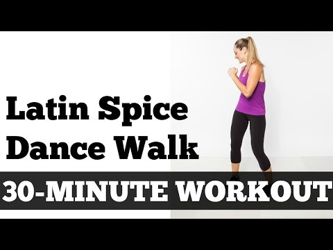30 Minute Latin Spice Walk Walking Exercise Fitness Dance Home Workout