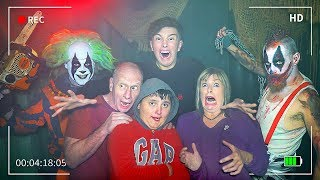 First To ESCAPE Haunted House Wins $10,000 - Challenge
