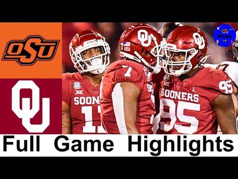 14 Oklahoma State vs 18 Oklahoma Highlights College Football Week 12 2020 College Football