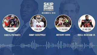 Chiefs/Patriots, Jimmy Garoppolo, Anthony Davis, Odell Beckham Jr. | UNDISPUTED Audio Podcast
