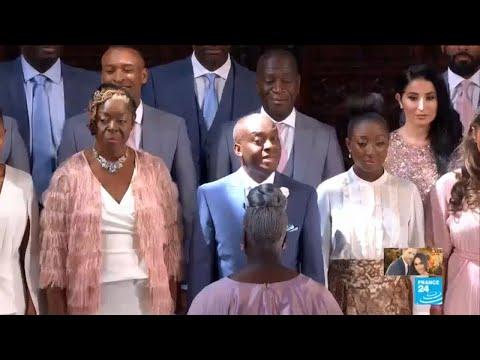 Xxx Mp4 UK Royal Wedding Gospel Choir Sings Quot Stand By Me Quot 3gp Sex