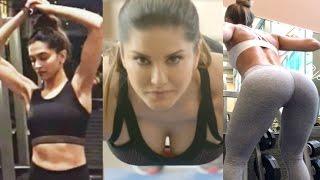 Bollywood Actress Workout 2017 Alia Bhatt, Katrina Kaif, Deepika Padukone, Bipasa Basu, Sunny Leone