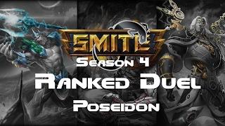 Smite Poseidon 3v3 Joust Fun Season 4