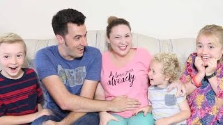Mommy's PREGNANT! - Family Reacts to New Baby