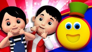 If You Are Happy | Bob The Train | Songs For Toddlers | Kindergarten Nursery Rhymes For Children
