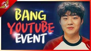 SKT T1 Bang Youtube Event !