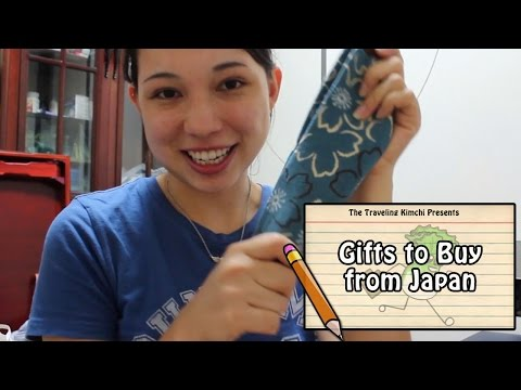 Gifts To Buy In Japan!