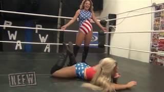 Madi Maxx vs Cali Young Female Wrestling
