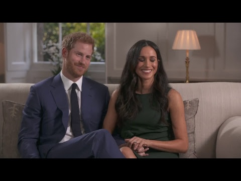 Prince Harry and Meghan Markle's first interview together - tape replay