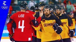 Ice Hockey | Germany v Canada | Men's Semi-Final Highlights | Pyeongchang 2018 | Eurosport