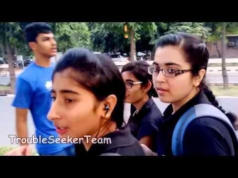 Saying Awkward Things To Pretty Girls   Pranks in India HD, 720p