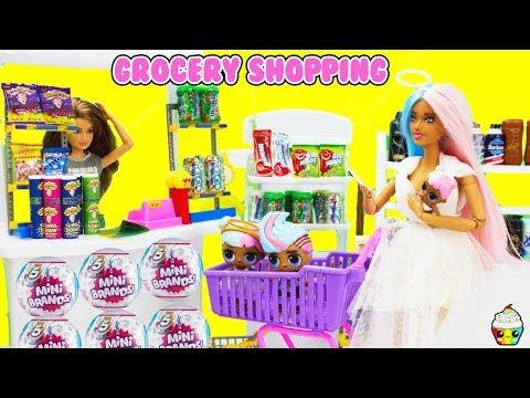 Sugar Family Grocery Shopping Empty Store FULL CASE Zuru Surprise Mini Brands