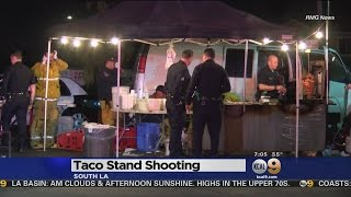 South LA Taco Stand Employee Shoots, Kills Robbery Suspect