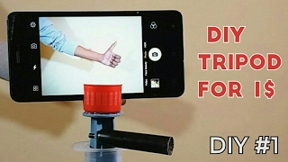 How To Make Tripod For Mobile
