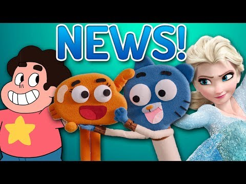 LOADS Of Gumball News! SU Crossover? Musical, Frozen, Darwin's Parents & More!