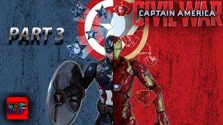 Captain America Civil War Part 3 Stop Motion Film