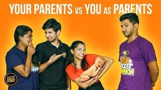 Your Parents vs You as Parents | Fully Filmy Mindvoice