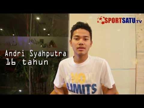 Wawancara Pemain Muda Potensial Indonesia di Qatar, Andri Syahputra